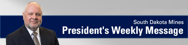 Weekly President's Message
